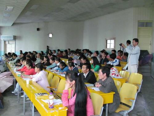 民盟上海市委组织专家赴青海宁夏智力支教
